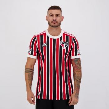 Camisa Adidas São Paulo II 2021 com Patrocínio