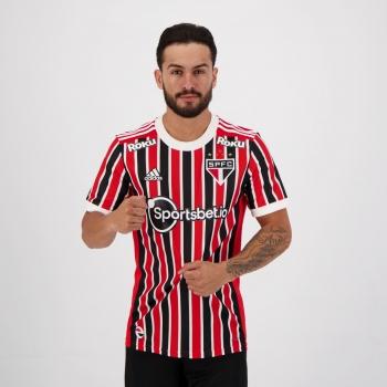 Camisa Adidas São Paulo II 2021 Patrocínio