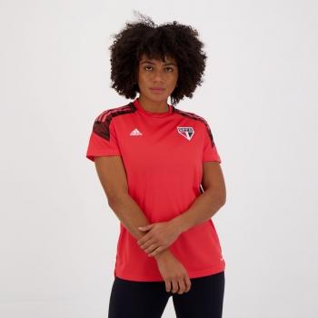 Camisa Adidas São Paulo Treino 2021 Feminina