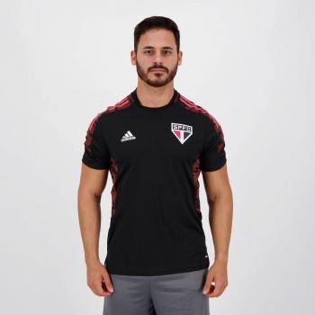 Camisa Adidas São Paulo Treino 2021 Preta
