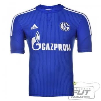 Camisa Adidas Schalke 04 Home 2016