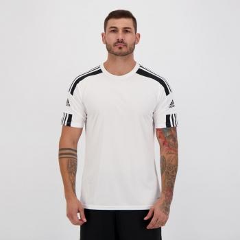 Camisa Adidas Squadra 21 Branca e Preta