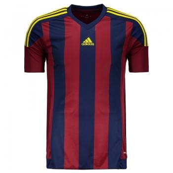 Camisa Adidas Striped 15 Vinho