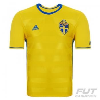Camisa Adidas Suécia Home 2016