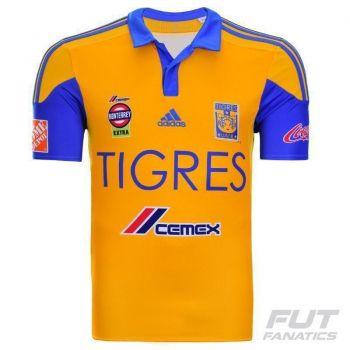 Camisa Adidas Tigres Home 2015