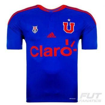 Camisa Adidas Universidad de Chile Home 2016
