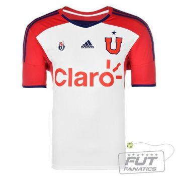 Camisa Adidas Universidad de Chile Away 2014