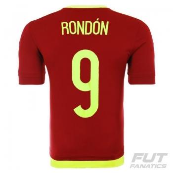 Camisa Adidas Venezuela Home 2015 9 Rondón Copa América
