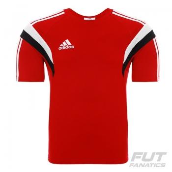 Camisa Adidas Viagem Condivo 14 Vermelha