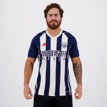 Camisa Adidas West Bromwich Albion Home 2018
