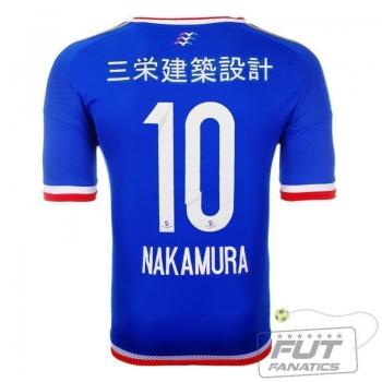 Camisa Adidas Yokohama Marinos Home 2015 10 Nakamura
