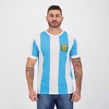 Camisa Argentina Retrô N° 10 Sublimado