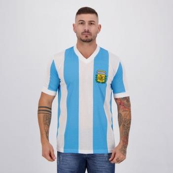 Camisa Argentina Retrô Nº 10