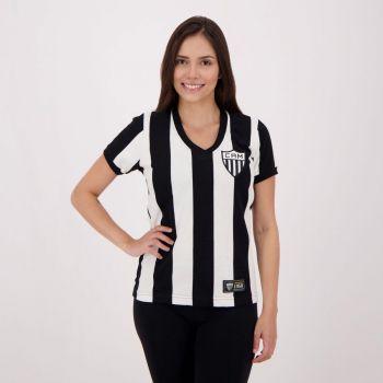 Camisa Atlético Mineiro 1950 Retrô Feminina