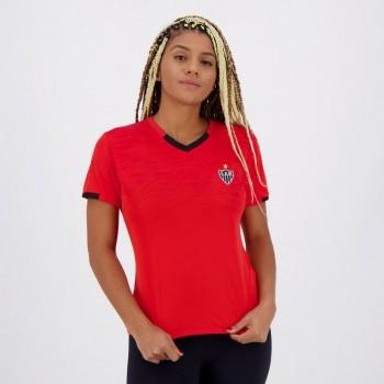 Camisa Atlético Mineiro Absolut Feminina Vermelha