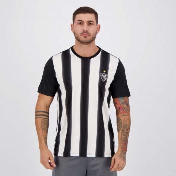 Camisa Atlético Mineiro Change Preta e Branca