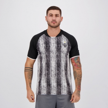 Camisa Atlético Mineiro Gentle Preta