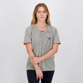 Camisa Atlético Mineiro Insight Feminina Cinza