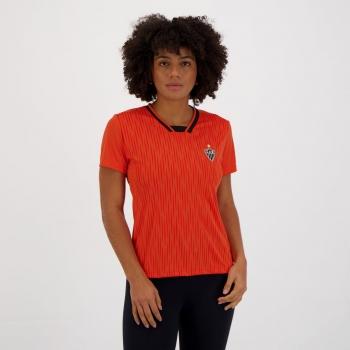 Camisa Atlético Mineiro Keeper Feminina Laranja