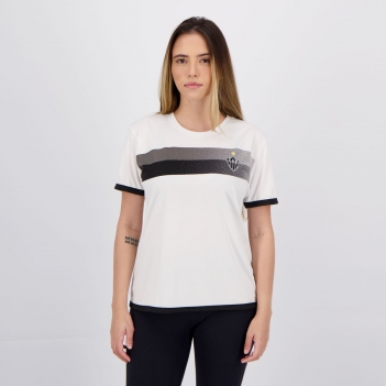 Camisa Atlético Mineiro Limb Feminina Branca