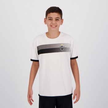 Camisa Atlético Mineiro Limb Infantil Branca