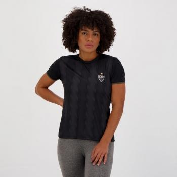 Camisa Atlético Mineiro Native Feminina Preta