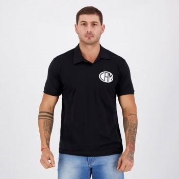 Camisa Atlético Mineiro Retrô Preta