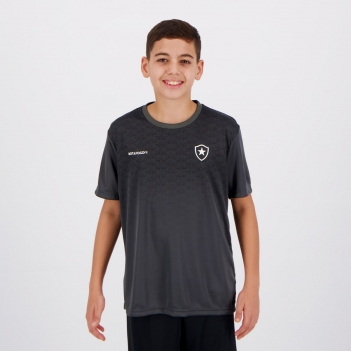 Camisa Botafogo Change Infantil Chumbo
