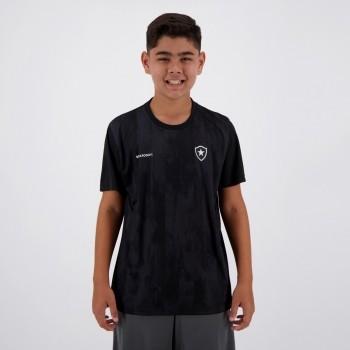 Camisa Botafogo Fold Infantil Preta