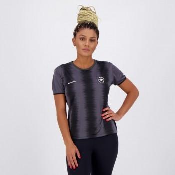 Camisa Botafogo Part Feminina Preta