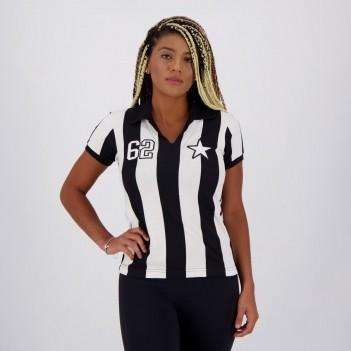 Camisa Botafogo Retrô 1962 Feminina