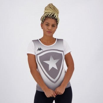 Camisa Botafogo Supporter Feminina Branca
