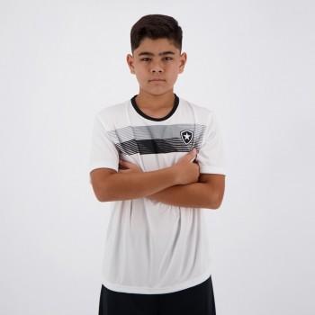Camisa Botafogo Talent Infantil Branca