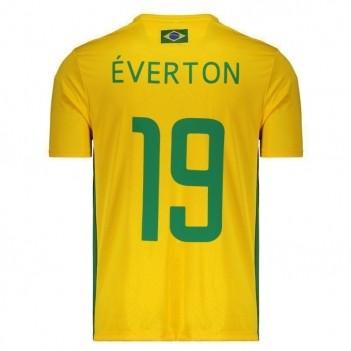 Camisa Brasil 19 Éverton