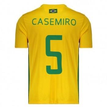 Camisa Brasil 5 Casemiro