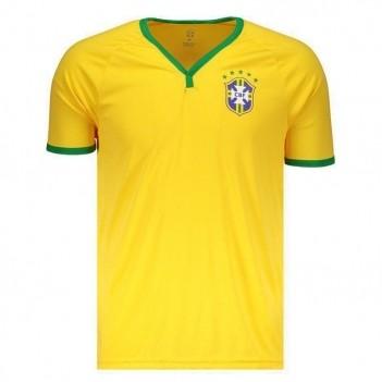 Camisa Brasil CBF Amarela