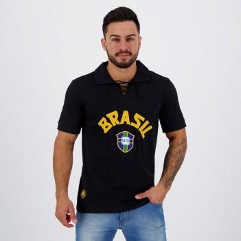 Camisa Brasil Goleiro Retrô 1970 N° 1