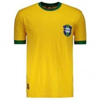Camisa Brasil Retrô 1970