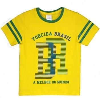 Camiseta Brasil São Francisco Infantil