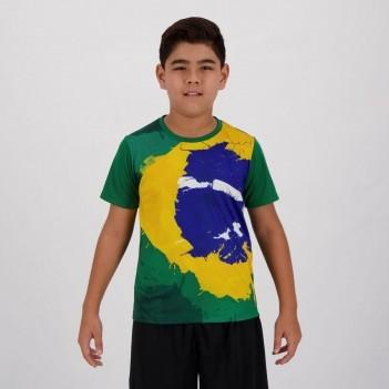 Camisa Brasil Solimões Infantil
