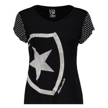 Camiseta Botafogo Escudo Feminina