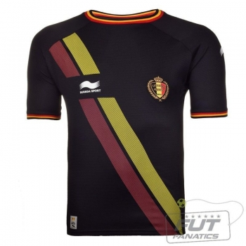 Camisa Burrda Bélgica Away 2014
