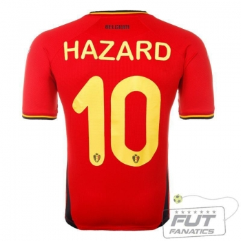Camisa Burrda Bélgica Home 2014 10 E.Hazard