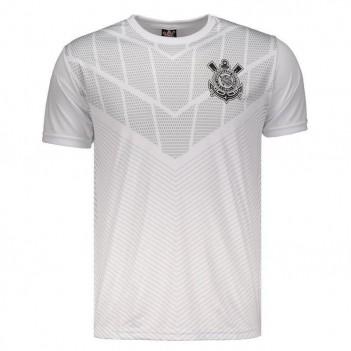 Camiseta Corinthians Empire Estampada Branca
