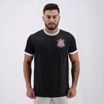 Camisa Corinthians Estado Preta