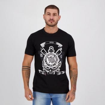 Camisa Corinthians Remos Preta