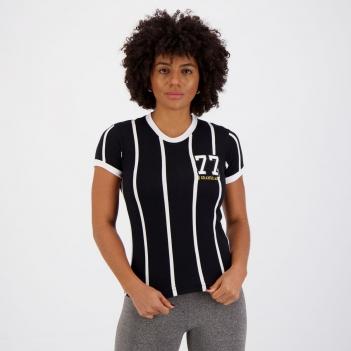 Camisa Corinthians Retrô 1977 Feminina