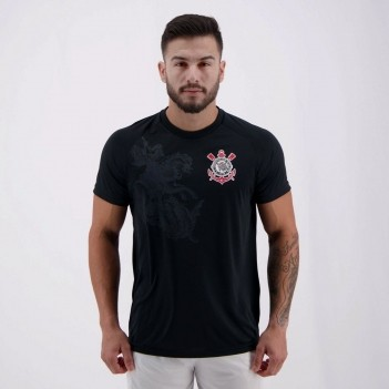 Camisa Corinthians São Jorge Preta