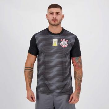 Camisa Corinthians Scrawl Campeão Brasileiro 2015