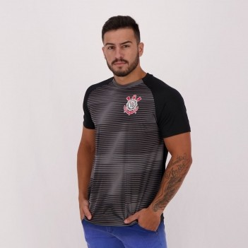Camisa Corinthians Scrawl Preta
